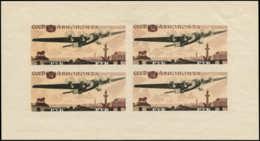 RUSSIE Blocs Feuillets * - 3, 1r. Avion - Cote: 250 - Ohne Zuordnung