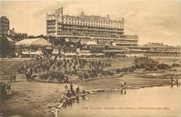 SOUTHEND - SUNKEN GARDEN & HOTEL ~ AN OLD PHOTO POSTCARD #91323 - Southend, Westcliff & Leigh