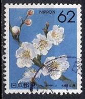 Japan 1990 - Prefectural Stamps - Flowers  30 - Prunus Mume - Wakayama - 1989-... Empereur Akihito (Ere Heisei)