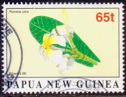 PAPUA NEW GUINEA 1996 SG #801 65t Used Flowers - Papua New Guinea