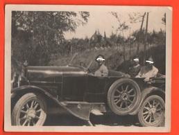 Auto Cars Voitures Automobiles Old Photo 30's - Automobili