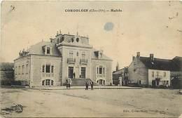 -dpts Div. -ref-AH586 - Côte D Or - Corgoloin - La Mairie Et La Place - - France