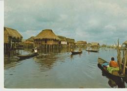 C.P. - PHOTO - CITE LACUSTRE DE GANVIE - 185 - M. ROUILLE - - Benin