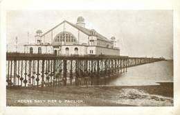 HERNE BAY - PIER & PAVILION - DATED 1914 ~ AN OLD POSTCARD #91419 - England