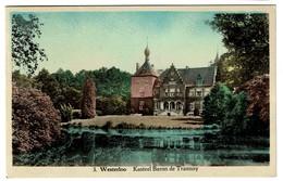 Westerloo - Kasteel Baron De Trannoy - Circulée - Uitg. Der Huizen Coenen En Salen - 2 Scans - Westerlo