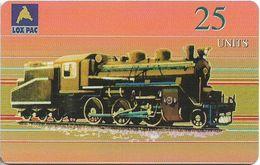 Korea, North - NEAT & T - Steamtrain Lox Pac, 1LOXIYA, 25U, 5.000ex, Mint (check Photos!) - Corée Du Nord
