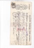 1884 / ITALIE / PORTO MAURIZIO / POUR ISTRES / TIMBRE FISCAL - Italie