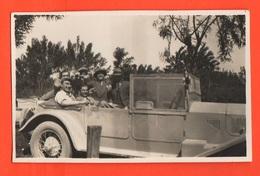 Auto Cars Voitures Old Photo '30s Coches Autos Macchine Veicoli - Automobili