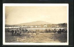 AK Quebec, Versammlung Von Soldaten Auf Dem Feld - Québec - La Cité