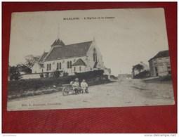 MARLOIE  -  L' Eglise  Et Le Centre       -  1909   - - Marche-en-Famenne