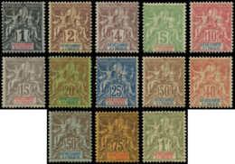 SENEGAMBIE & NIGER Poste * - 1/13, Le Pays Complet - Cote: 310 - Senegambia And Niger (1903-1906)