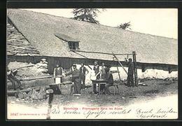 AK Sennhütte, Fromagerie Dans Les Alpes - Breeding