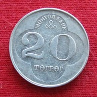 Mongolia 20 Tugrik 1994 KM# 122 Lt 649 *V2  Mongolie - Mongolia