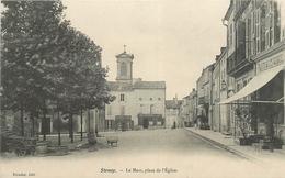55-Stenay - Le Mess, Place De L'Eglise - Carte Précurseur ( Tabacs, Café Du Kiosque) - Stenay
