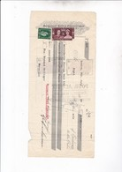 LONDON 1937 / FERDINAND SCHWARZMANN / 2 TIMBRES + FISCAUX  FRANCAIS AU DOS - Reino Unido