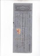 MADRID 1862 / PEDRO MAGE / POUR BARCELONE / TIMBRE FISCAL - España