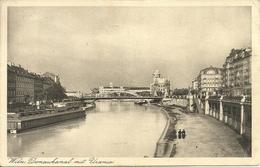 """Vienna, Wien (Austria) Donaukanal Mit Urania, Danubio, Stamp """"Osterreich 18 G 1925"""" - Altri"""