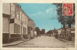 -dpts Div. -ref-AH577 - Charente Maritime - Saint Hilaire De Villefranche - Route De Saint Jean D Angely - - France