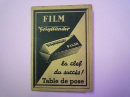 2019 - 1302  FILM VOIGTLÄNDER  :  TABLE De POSE  (2 Volets)   XXX - Unclassified