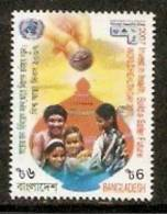 Bangladesh 2007 World Health Day Saving Box Coin Happy Family Sc 719 MNH # 384 - Health