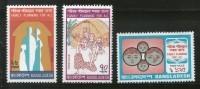 Bangladesh 1974 Family Planning Health Sc 86-88 MNH # 1132 - Bangladesh
