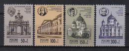 Russia 1994 Monuments  Y.T. 6069/6072 ** - 1992-.... Fédération