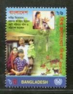 Bangladesh 2002 World Population Day Health Family Sc 658 MNH # 3442 - Bangladesh