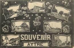-dpts Div. -ref-AH575 - Charente Maritime - Aytré - Souvenir De ... - Multi Vues Dont Gare Et Rues - Carte Bon Etat - - Saint-Georges-de-Didonne