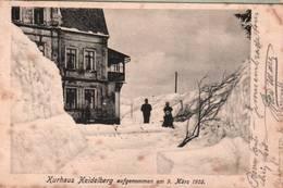 CPA - HEIDELBERG - Kurhaus ... 9 Mars 1905 - Heidelberg