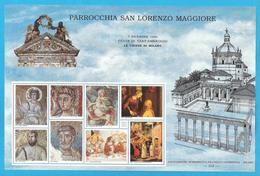 Erinnofilo 1994 ANFE Festa S. Ambrogio Le Chiese Di Milano San Lorenzo Maggiore - Erinnofilia