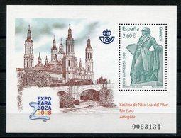 RC 12424 ESPAGNE 2008 BLOC NEUF ** A LA FACIALE - 1931-Today: 2nd Rep - ... Juan Carlos I