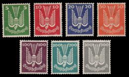 Germany , Deutsche, Almagne ,1924 Reich Flugpost ,complete Set ,MLH* - Germany