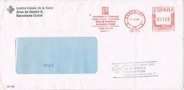 32347. Carta BARCELONA 1993. Franqueo Mecanico Generalitat Catalunya. Institut De La SALUT - 1931-Today: 2nd Rep - ... Juan Carlos I