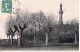 01. Montluel. La Tour Statue De La Madone - France