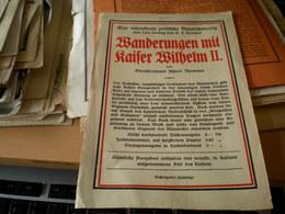 Wanderungen Mit Kaiser Wilhelm II - Advertising