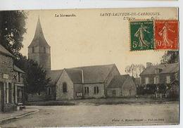 SAINT SAUVEUR De CARROUGES: L'église - Phot Blanc-Dupont - France
