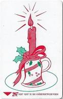 Ukraine - Ukrtelecom - Christmas Candle - K297 - 12.1997, 840Units, 30.000ex, Used - Ukraine