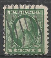 United States 1914. Scott #424 (U) George Washington (1732-99), President * - Verenigde Staten