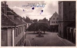 CPA - RADOLFZELL - Vue De La Ville - Marktstätte - Radolfzell