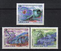 Russia 1994 Space Y.T. 6075/6077 ** - 1992-.... Fédération