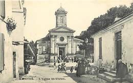 -dpts Div. -ref-AH571 - Charente Maritime - Saintes -eglise St Vivien - Ecole St Vivien - Laitière - Laitieres - Metiers - Saintes