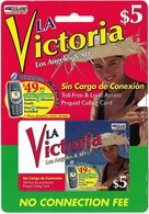 USA - La Victoria Los Angeles & SD, Remote Mem. Uncut Cardboard, 5$, Mint - Otros