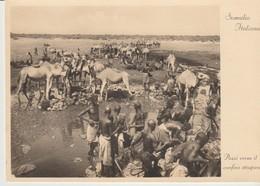 C.P. - SOMALIA ITALIANA - POSSI VERSO IL CONFINE ETIOPICO - A. PARODI - 18 - Somalie
