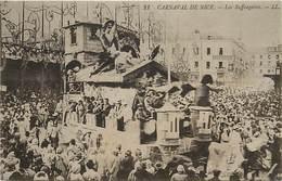 -dpts Div. -ref-AH564 - Alpes Maritimes - Nice - Carnaval - Char Les Suffragettes - Suffragette - Fête - Fêtes - - Carnival