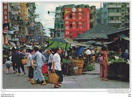 Chine : Hong - Kong  : Market . - Chine (Hong Kong)