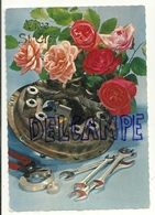 Vive Saint Eloi. Outils Et Roses. JC 13011. 1970 - Anniversaire