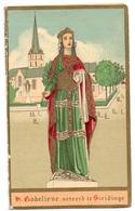 Devotie - Devotion - Heilige Godelieve Vereerd Te Sleidinge - 1890 - Images Religieuses