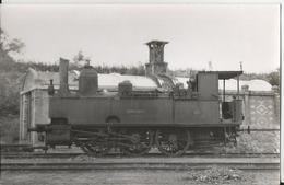 Photo - Locomotive à  Vapeur  Bonnétable - Ligne Mamers Saint Calais - - Places