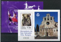 RC 12466 ESPAGNE 2010 BLOCS NEUFS ** A LA FACIALE - 1931-Aujourd'hui: II. République - ....Juan Carlos I