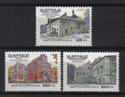 Russia 1995 Achitecture  Y.T. 6103/6105 ** - 1992-.... Fédération
